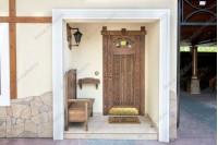 """Дверь """"Авель"""" входная из лиственницы"""