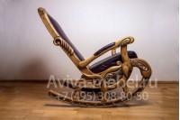 """""""Кресло-качалка №1"""" из массива дуба"""