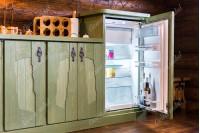 "Кухня ""Викинг"" зеленая"