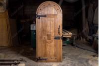 """Дверь """"Лот"""" входная из массива дуба"""