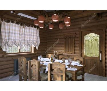 Рустик в интерьере — деревенская сказка и современный шик